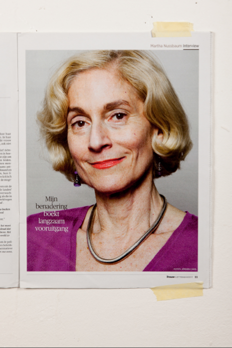 Martha Nussbaum: 'Nu ben ik eindelijk een nuttige burger'