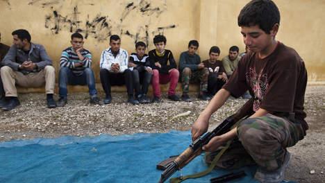 Zijn dat 'onze jongens', in Syrië?
