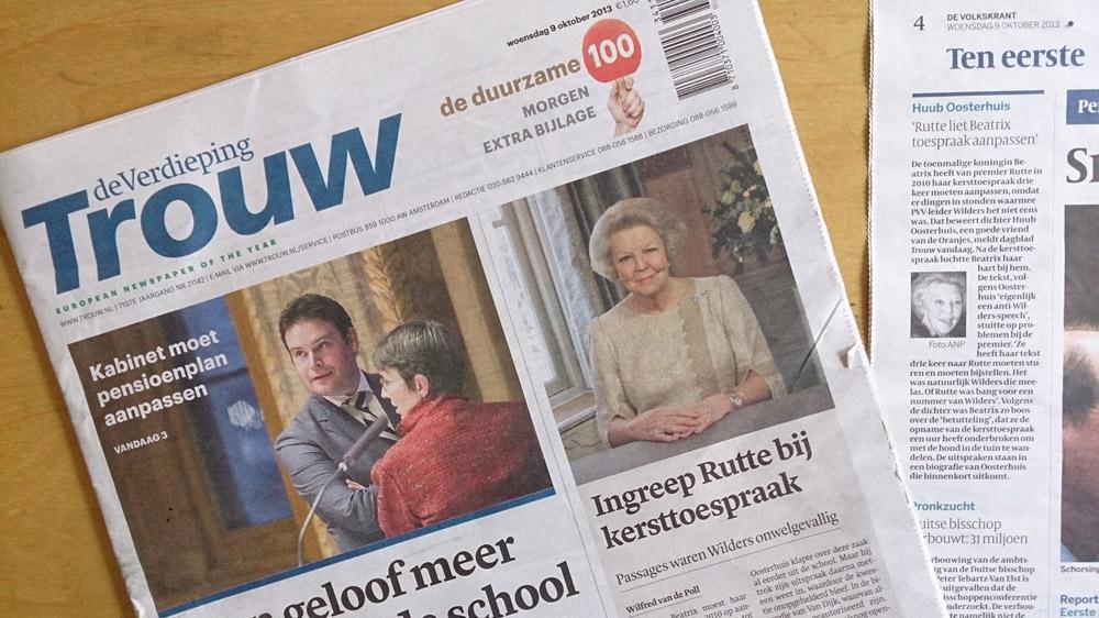 Media brengen nieuws uit 'De paus van Amsterdam'. Boek is online te bestellen en in winkels al verkrijgbaar